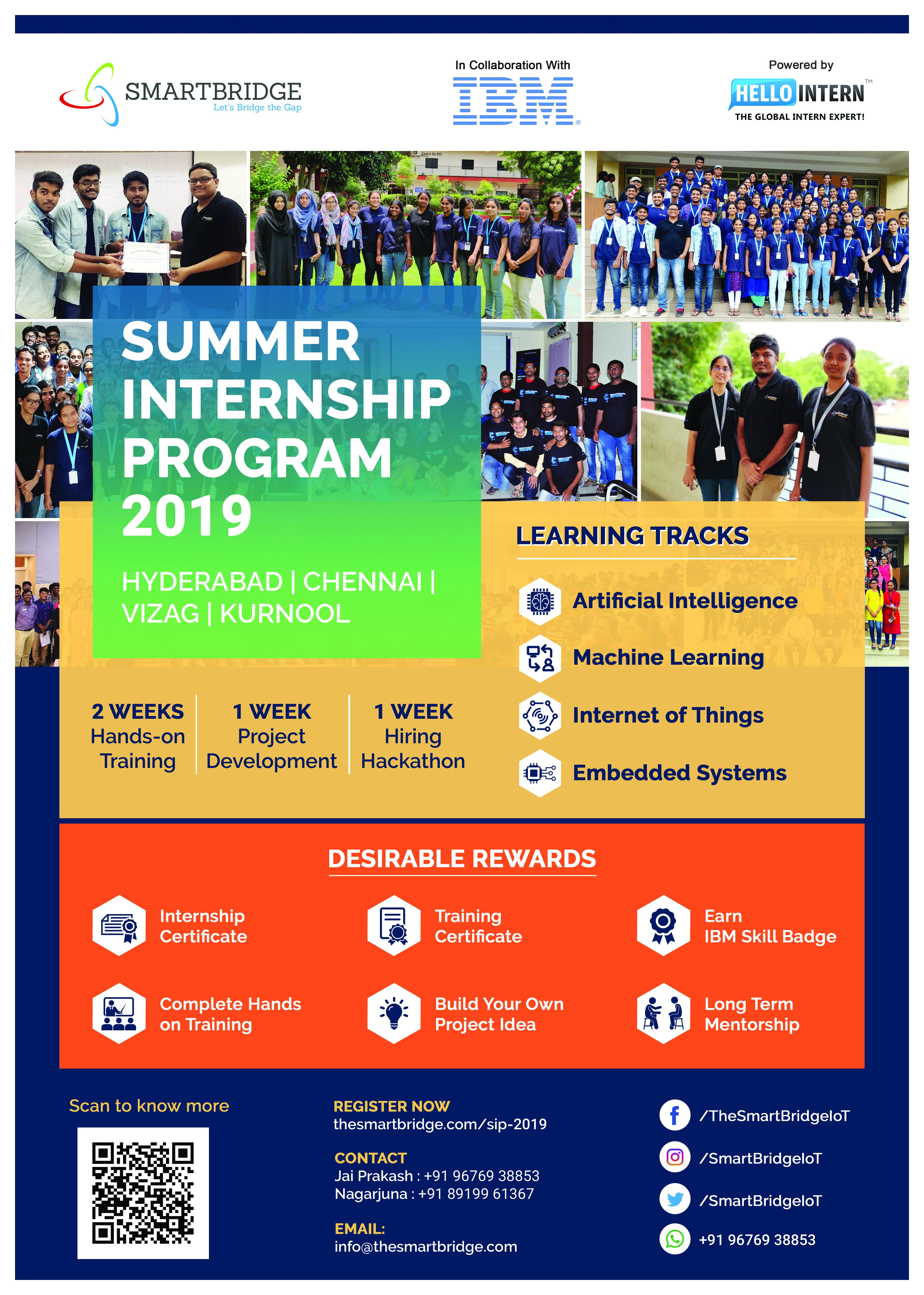 Summer Internship Program - 2019